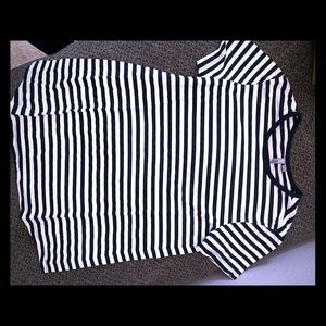 Asos striped top siZe 6
